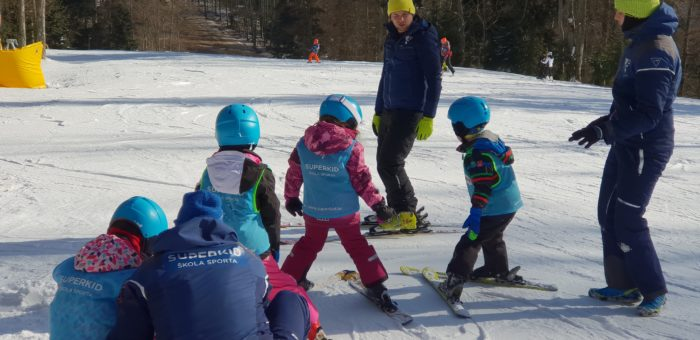 Škola skijanja na Sljemenu za školarce